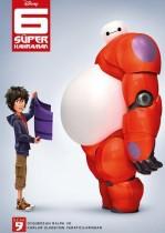 6 Süper Kahraman – Big Hero 6 Türkçe Dublaj Full HD izle (2014)