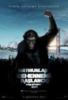 Maymunlar Cehennemi 1 izle 2011 Başlangıç hd türkçe dublaj
