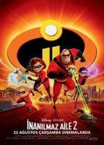 İnanılmaz Aile 2 Türkçe Dublaj 2018 izle – En iyi Animasyon Filmi