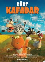 Dört Kafadar 2019 komedi animasyon filmi fullhd izle